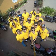 All set for @indiabikeweek.  Here we come #revlimiterz #coastalsuperbikers #PDArmy