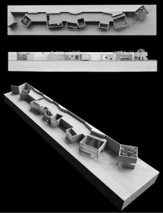 way to deal with building form- separate baths but single form _Vector Architects