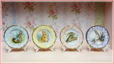 "1"" Spring Plates"