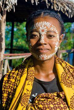 Sakalava Woman, Madagascar