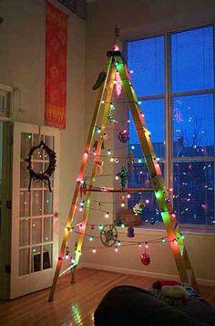 decoração Natal Hope I never have to use this idea.  lol