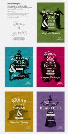 Brink's Rethymnian Brewery - Rebranding by serafim stroubis, via Behance