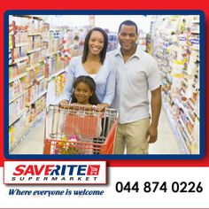"""Saverite Supermarket York Street has something for everybody and everybody is welcome. Visit our store and check out all the amazing special offers we have for you. We buy right so that you can """"Saverite"""" #supermarket #groceries #essentials"""