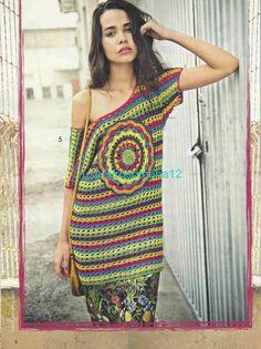 Crochetemoda Blog: Crochet - Túnica