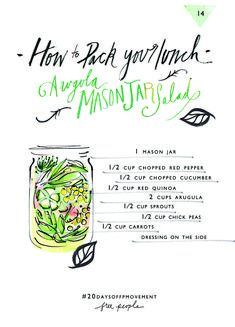 20 Days Of Movement, Day 14: Pack Your Lunch | Free People Blog #freepeople
