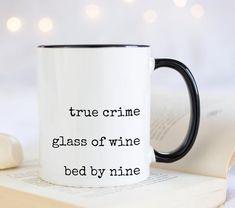 Grandma Mug, New Grandma, Grandmother Gifts, Book Lovers Gifts, Gifts In A Mug, Funny Mugs, Funny Gifts, Handmade Design, True Crime