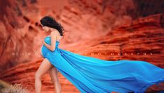 Lisa Holloway of LJHolloway Photography photographs gorgeous pregnant woman in the Valley of Fire on the red rocks wearing wind blown blue dress Maternity Photography Poses, Maternity Portraits, Maternity Photographer, Maternity Session, Maternity Pictures, Pregnancy Photos, Pregnancy Photography, Fit Pregnancy, Dream Photography