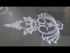 Kalash Rangoli Small Design Sanskar Bharati Rangoli Diwali special Kalas...