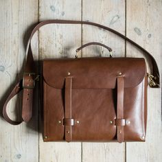 'Hermod' Messenger Bag via NORDIC DISTRICT. Click on the image to see more!