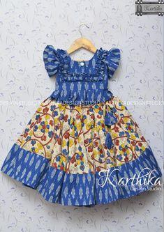 Girls Frock Design, Kids Frocks Design, Baby Frocks Designs, Baby Dress Design, Baby Girl Frocks, Frocks For Girls, Dresses Kids Girl, Kids Outfits, Baby Lehenga