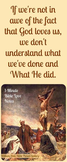 We should ponder this important truths every day: The fact that we deserve eternal punishment but when we become a follower of Jesus we receive eternal life. And this gift came at great cost to our Savior. Double click image to read 1-minute devotion about his subject.