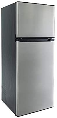 Amazon.com: RecPro RV Refrigerator Stainless Steel | 10.7 Cubic Feet | 12V | 2 Door Fridge: Automotive