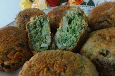Ako pripraviť špenátové krokety s mäsom? Muffin, Food And Drink, Herbs, Breakfast, Fit, Morning Coffee, Muffins, Herb, Cupcakes