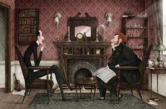 """Iban Barrenetxea: """"No quiero dibujar """"un Sherlock Holmes"""", tengo que intentar buscar al personaje hasta encontrar al único y verdadero Sherlock Holmes"""""""