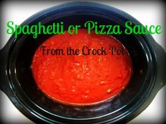 crock pot sauce for
