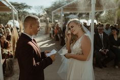 We captured this lovely bushveld wedding celebration at Lunikhy, an epic venue just outside Pretoria. Janine + Marnus, thank you for trusting us with your story! Documentary Photographers, So Much Love, Stunning Dresses, Celebrity Weddings, Wedding Couples, Vows, Wedding Ceremony, Documentaries, Flower Girl Dresses
