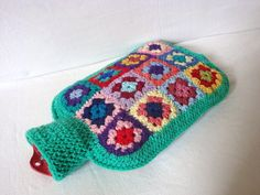 Hot Water Bottle Cover- Made by AlexandraMckenzieNZ (on Etsy) Crochet Quilt, Crochet Cross, Knit Or Crochet, Crochet Eyes, Crochet Woman, Yarn Needle, Yarn Crafts, Crochet Projects, Crochet Patterns
