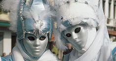 Coppia di maschere