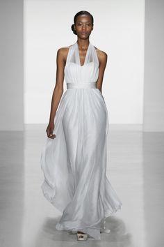 CHRISTOS: Christos Bridal -  'KIRA'  One of  the Collection's Grecian/Venus Style Goddess Dresses 2014. Image Courtesy of weddingsonline.ie  via   christosbridal.com