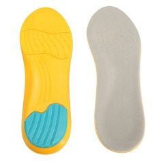Memory Foam Breathable Orthotic Arch Shoe Insoles Sport Insert Heel Cushion Pad
