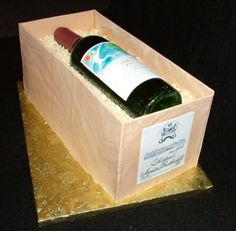 Wine In a Crate By toodlesjupiter on CakeCentral.com