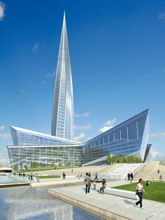 Lakhta Center, St. Petersburg / RMJM / Kettle Collective (468m, completion in 2018