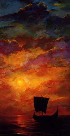 "ancestorsofthenorse: "" The Last Sunset By Floyd Johnson """
