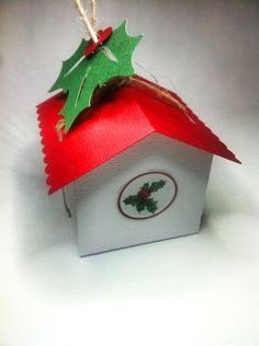 Gift Box Little Bird House Christmas Jewellery by RubyCanoeDesign, $2.50