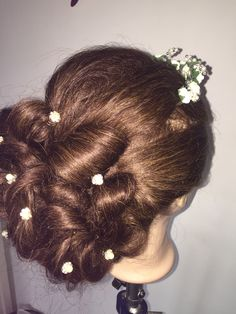 Wedding updos, hair spins and tiara tradition look❤️❤️