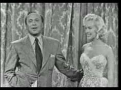 Marilyn Monroe On The Jack Benny Television Show, September 1953 (full episode).  Marilyn comes on at 15:47 and 21:48