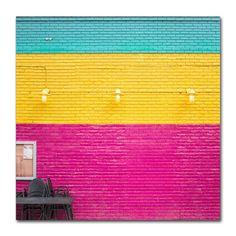 Trademark Art CMYK By Matt Crump Photographic Print On Wrapped Canvas Size 35