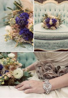 Gorgeous flowers for a woodsy/outdoor event from Flourish Floral Design Studio