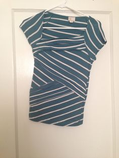 Anthropologie 9-h15 blue T