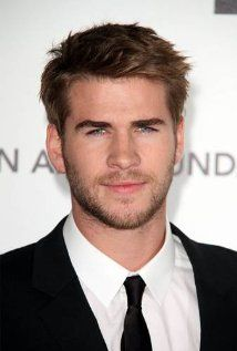 Liam Hemsworth. Glad he's off Miley!! He can be gorgeous again haha... Eyes eyes eyes.