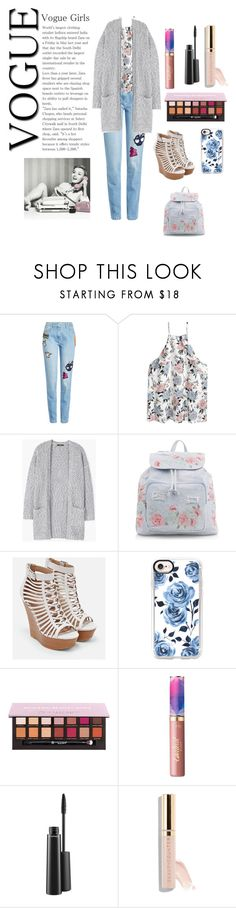 """Grateful graduate"" by typicallylena ❤ liked on Polyvore featuring Kenzo, MANGO, New Look, JustFab, Casetify, tarte, MAC Cosmetics and Beautycounter"