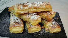 Chaussons crème pâtissière et amandes – Recettes Italiennes