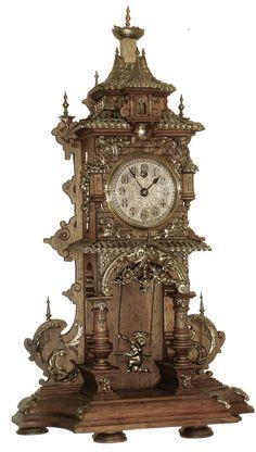 31 super Ideas old wood clock Home Clock, Clock Art, Mantel Clocks, Old Clocks, Classic Clocks, Pendulum Clock, Unique Clocks, Retro Clock, Wall Clock Online