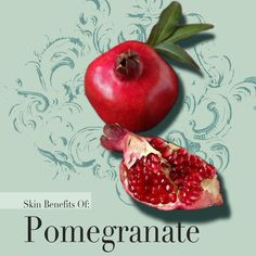 The 5th of 20 botanical ingredients in our #NewProductReveal | #GreenBeauty #OrganicSkincare #NewProduct #pomegranateoil #pomegranate #faceoil #nontoxicskincare #veganskincare