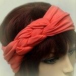 #PinItToWinIt Repin or Pin your favorites from TurbanDiva.com. Weekly winners through 1/31/13. Cantaloupe Turban Head Wrap Woven Knot $30