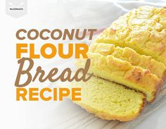 Ah bread, that magical word that gets my appetite going no matter how much I've eaten. This paleo-friendly coconut flour bread delivers that magic.