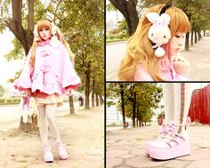 <3<3<3 (by Chibi Bunny P) http://lookbook.nu/look/4432491-3-3-3