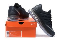 5ad3a2574f29 Nike Air Max 2016 Men Mesh Black Nike Air Max Tn