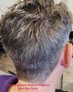 We have a haircut and hair style for all types of hair. Here is our latest short haircut.   Our top stylist used clippers and ✂️ over comb technique to achieve this  short look. Then she  thinned Sam's hair to remove the bulk.  #haircut  #shorthair #hairstyles #hairsalon #topsalon #luxuryhair  #scissorsovercombcuts  #chilhamhair #canterburyuk