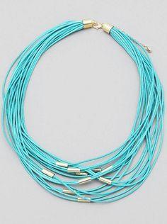 Mira este artículo en mi tienda de Etsy: https://www.etsy.com/listing/229972096/mediterranean-trend-necklace-turquoise