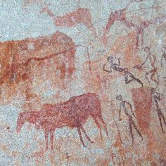 """The whole of the region north of Harare is dotted with cave paintings. Two sites feature prominently in itineraries and tours: Domboshawa and Ngomakurira, north of the city along the Borrowdale–Domboshawa road."" Zimbabwe: The Bradt Guide www.bradtguides.com"