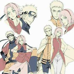 Naruto Uzumaki, Anime Naruto, Naruto E Sakura, Naruto Cute, Naruto And Sasuke, Sakura Haruno, Otaku Anime, Naruhina, Naruto Couples