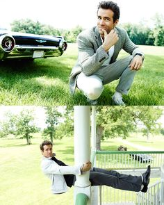 Ryan Reynolds - sexy, witty, smart and talented. Love!