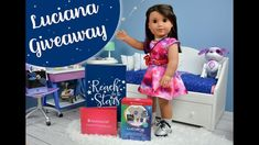 Our 1 Year on YouTube Giveaway! - American Girl Luciana Vega Inspired Giveaway - YouTube