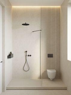 Cómo amueblar bien un baño, aunque sea muy pequeño | Elebé Arquitectura Modern Bathroom, Small Bathroom, Minimal Bathroom, Colorful Bathroom, Dyi Bathroom, Master Bathroom, Interior Minimalista, Toilet Design, Bathroom Renos