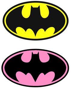Batman Party, Batgirl Party, Batman Birthday, Superhero Birthday Party, Superhero Cake, Superhero Logos, Boy Birthday, Birthday Parties, Batman Girl